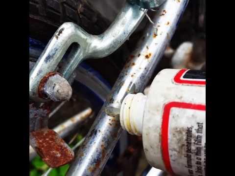 Chrome Frames Clean Up Well. 1983 Raleigh BMX
