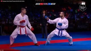 Download Video EUROPEAN CHAMPIONSHIP 2018  - GABOR HASPARTAKI(red) vs RAFAEL AGHAYEV(blue) MP3 3GP MP4