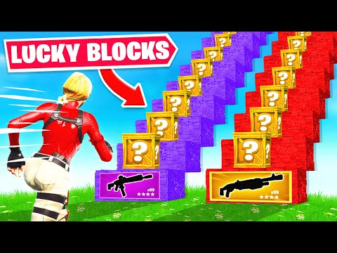 GUESS the LUCKY BLOCK to WIN! (Fortnite)
