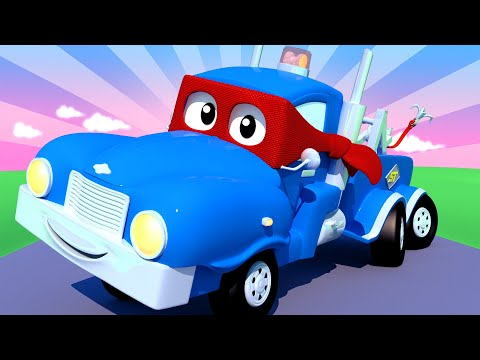 The SUPER PICKUP TRUCK - Carl the Super Truck - Car City ! C