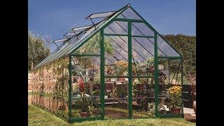 Szklarnia do uprawy warzyw w ogrodzie. Model Snap&Grow Palram