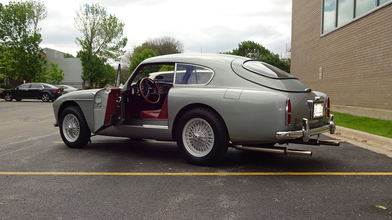 Ride In A 1959 Aston Martin Db 2 4 Mark Mk Iii Why Not On My Car Story With Lou Costabile Youtube