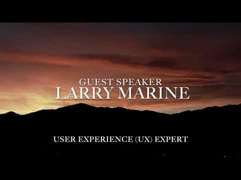 UX Expert Larry Marine