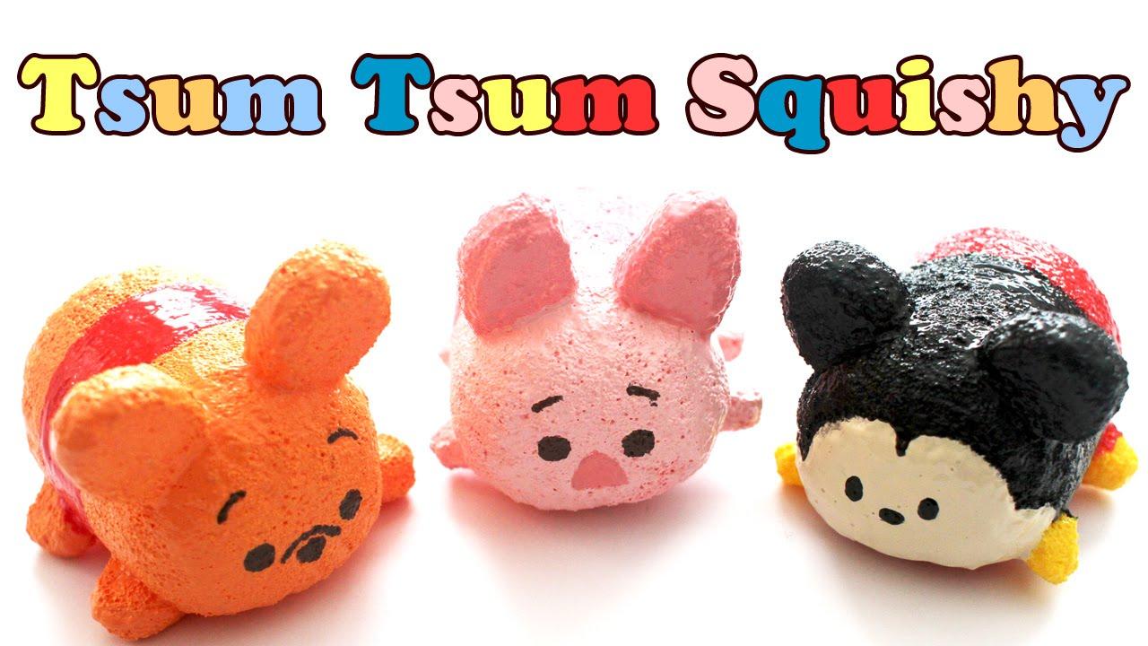 Tsum tsum pooh homemade squishy tutorial youtube for Squishy ideas