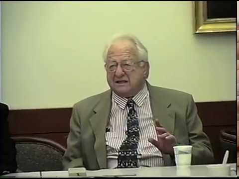 Cyrus Gordon interview at Center for Advanced Judaic Studies, University of Pennsylvania