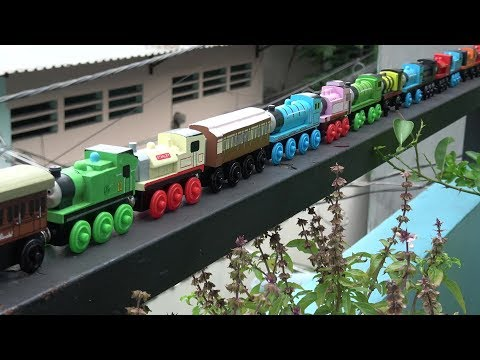 Thumbnail: Thomas and Friends falling on water. Thomas the toy trains!