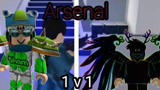 Arsenal 1 V 1 With TrexGamesBot |Roblox