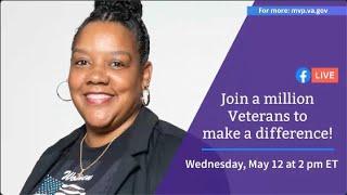 VA's Million Veteran Program on Facebook Live for Women's Health Week 2021