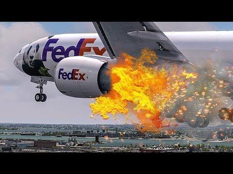 Engine On Fire | Emergency After Takeoff | New Flight Simulator 2018 | 4K |