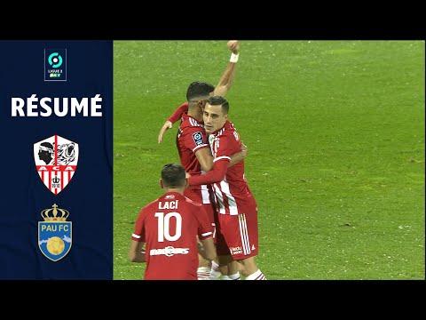 AC Ajaccio Pau Goals And Highlights