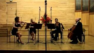 POMERANIA STRING QUARTET - P. Martin - Beguine from Latin set