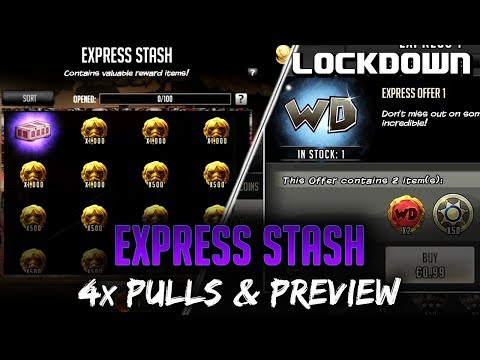TWD RTS: Express Stash, 4x Pulls & Preview - The Walking Dead: Road to Survival