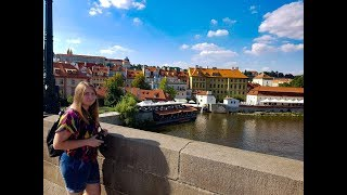Как мы съездили в Прагу/ День 1/ Вышеград/ Карлов мост/Петршинская башня