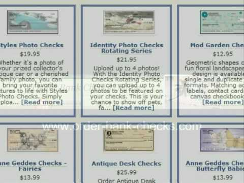 Order Bank Checks