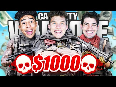 Whoever Gets The Most Warzone Kills Wins $1000