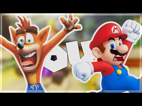 Crash Team Racing (NF) OU Mario Kart 8 (DX) ?