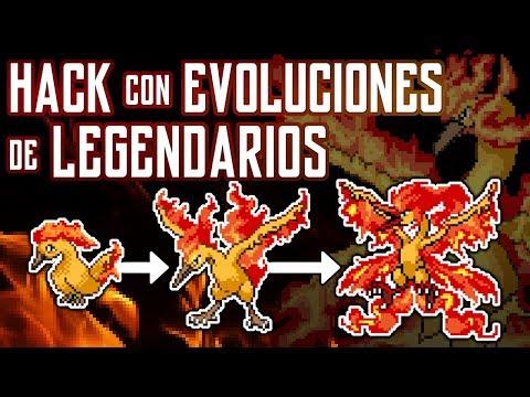 HACK Con EVOLUCIONES De LEGENDARIOS | POKEMON - DomyGames