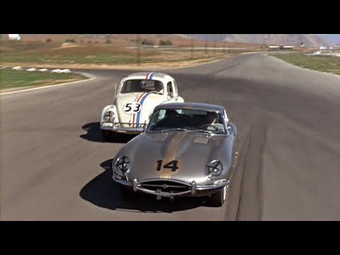 The Love Bug (1968) Race at Riverside