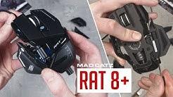MAD CATZ RAT 8+ | Die Transformer Maus! | Unboxing & Hands on