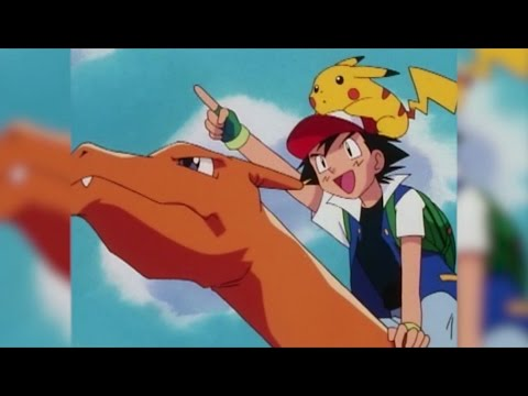 Adventures with Ash and Charizard!