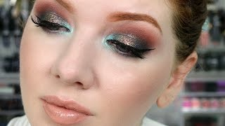 Glitter Eyeshadow Tutorial | Holiday Makeup