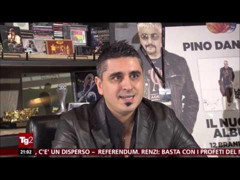 """QUALCOSA ARRIVERÀ"" | Intervista ad Alex Daniele al Tg2 (24/11/2016, edizione 20:30)"