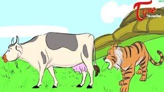 Honest Punyakoti (The Holy Cow) Story For Kids   Telugu Moral Stories   By Dr Chitti Vishnu Priya