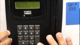 Kaba Ilco - 700/780 - HOW TO: Make a GMA Keycard