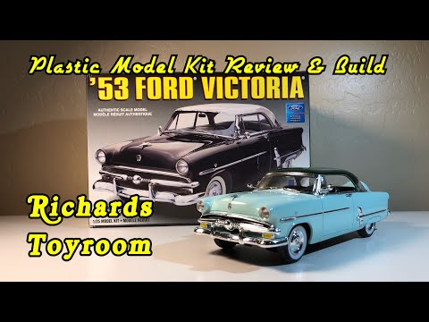 Plastic Model Kit Review & Build, 1953 Ford Victoria by Lindberg