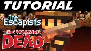"The Escapists: The Walking Dead - E01 ""Tutorial Hospital"" (Gameplay Walkthrough)"