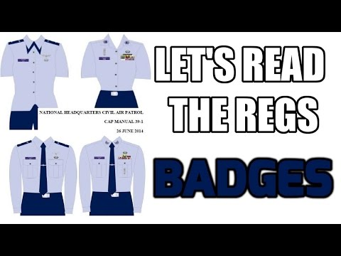 Lets Read the Regs - Badges