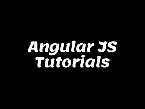 Angular Js Tutorials For Beginners thumbnail