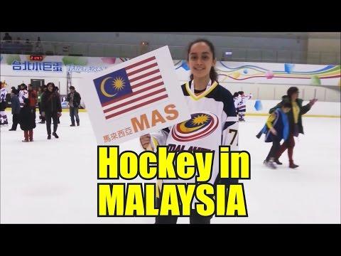 Ice Hockey in Malaysia - by Zoë