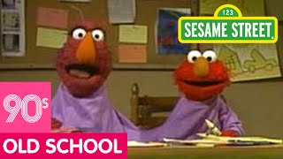 Sesame Street: Elmo and Telly Go To Two-headed Monster School