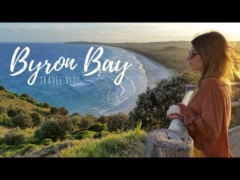 BYRON BAY TRAVEL VLOG + Baby Announcement! ❁