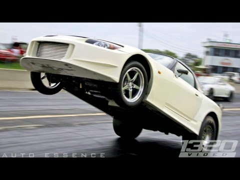 TX2K12 - 8 Second 2JZ S2000 Giant Wheelie! - YouTube