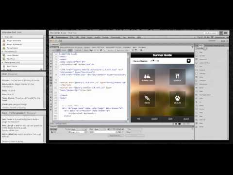 Building Mobile Apps Using Dreamweaver CC, with Paul Trani