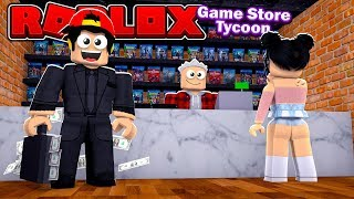ROBLOX - GAME STORE OWNER, LEVEL 100 BOSS!!!