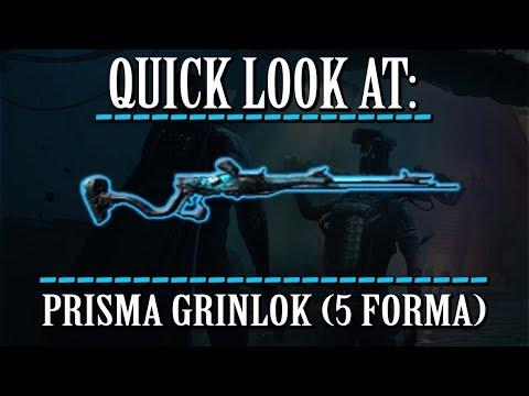 Warframe - Quick Look At: Prisma Grinlok (5 Forma) thumbnail