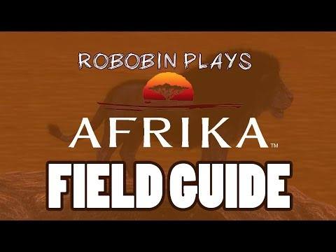 Let's Play Afrika (PS3) Extras: Field Guide