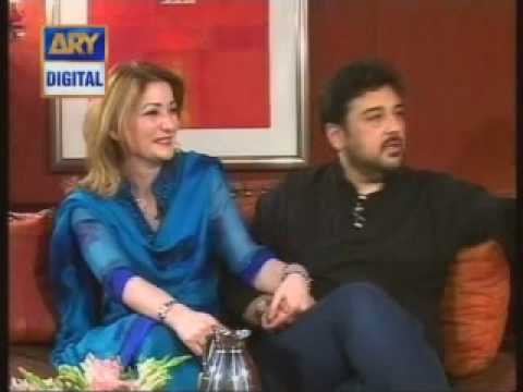 Good Morning Pakistan Adnan Sami With Wife In Gmp P2mp4 Youtube