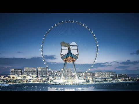 BlueWaters Island in Dubai has the tallest Ferris Wheel in the World