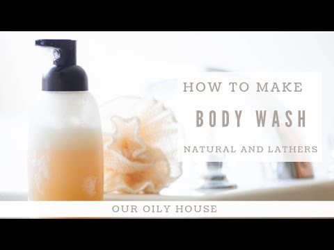 how-to-make-natural-body-wash-|-honey-coconut-body-wash