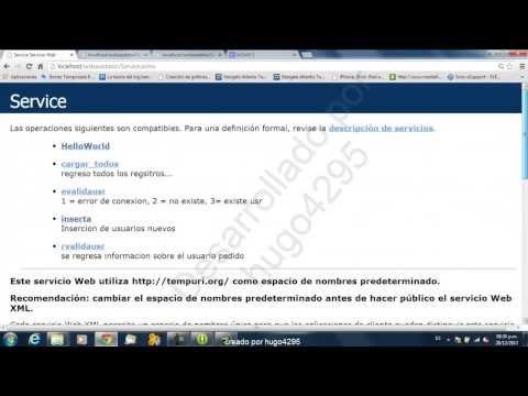 Consumir WebService NET con Android