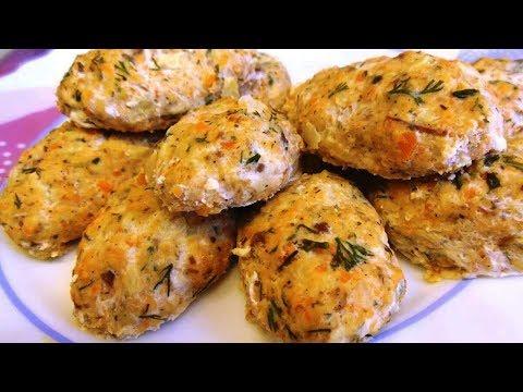 Рецепт за 135 Рублей Порция - Котлеты из Рыбы Классические
