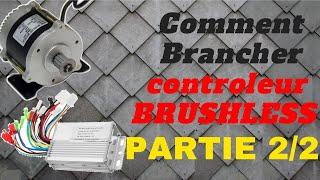 ✋️TUTO : BRANCHEMENT CONTROLEUR BRUSHLESS PARTIE 2/2