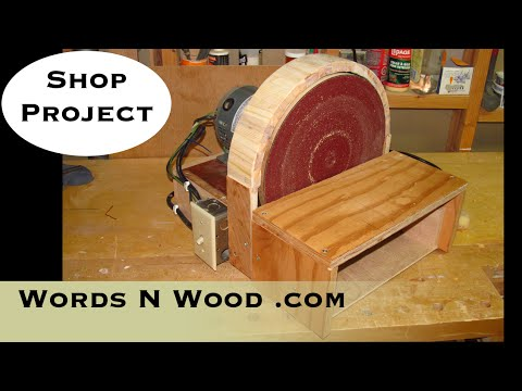 "building-a-12""-disc-sander-from-a-furnace-motor-(wnw-#12)"