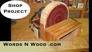 "Building A 12"" Disc Sander From A Furnace Motor (wnw #12)"