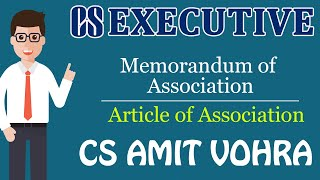 Memorandum of Association & Article of Association