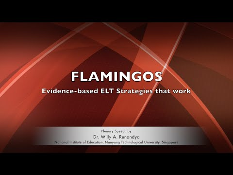 2016 International TESOL Conference: FLAMINGOS by Dr Willy A Renandya